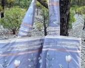 Floral Heather Prewashed Futon Cover Sample Market Tote Shopping Bag