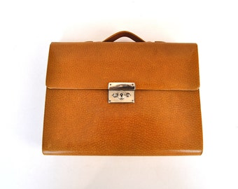 1950s Vintage Leather writing iPad eReader document case