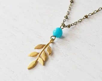 leaf necklace, gold leaf pendant, woodland nature, bridesmaid gift, modern jewelry, gold necklace, friend gift, black friday, christmas gift
