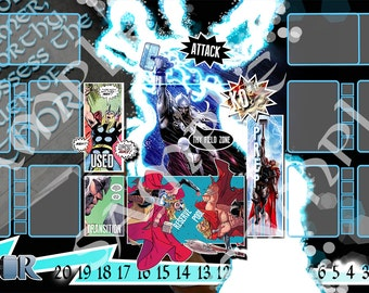 Thor  Dice Masters Play Mat