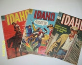 Dell IDAHO 1963, 1964 and 1965 12 Cent Comic Books Set of 3