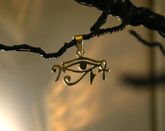silver Pendant music Egyptian bass clef eye of Ra eye of horus universalgroove Can't get the Beat without the Soul Sterling