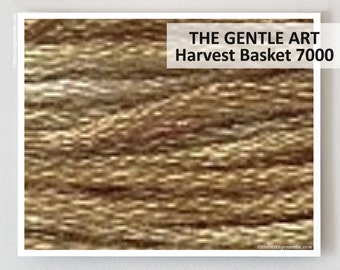 HARVEST BASKET 7000 : Gentle Art GAST hand-dyed embroidery floss cross stitch thread at thecottageneedle.com