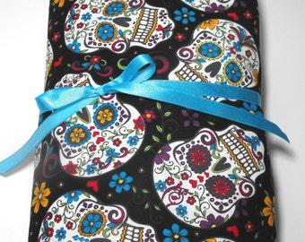 Sugar Skull Toddler Bedding Set, 2-piece