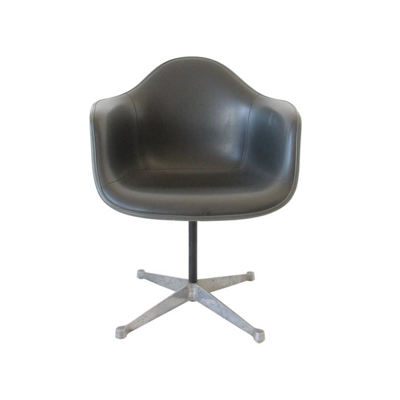 Vintage herman miller swivel shell chair by at1stsight on etsy - Vintage herman miller ...