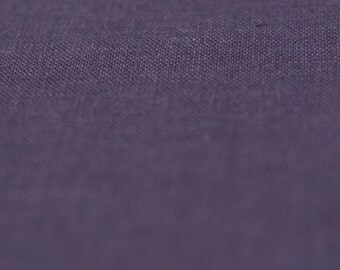 Violet linen fabric by half yard Very soft pure linen flax fabric yardage