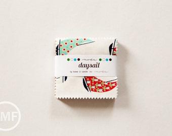 Daysail Candy Pack, Mini Charm Pack, Bonnie and Camille, Moda Fabrics, Pre-Cut Fabric Squares, 55100MC
