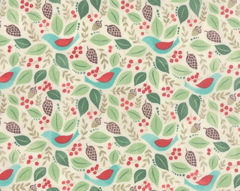 Evergreen Good Will in Marshmallow, BasicGrey, 100% Cotton, Moda Fabrics, 30401 11