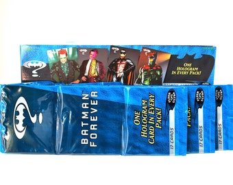 3 Batman Forever Rack Packs 1995 Fleer Ultra