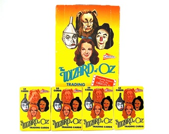 4 Wizard of Oz Trading Card Packs by Pacific