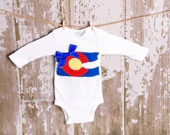Colorado girl shirt or bodysuit size newborn to 6 toddler