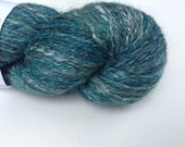 "Handspun yarn, fingering, ""Enchanted Forest"" 5.0 oz, 451 yds"