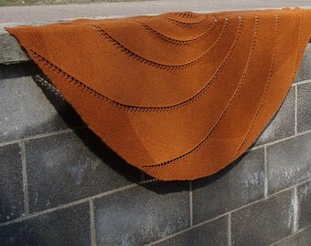 Concavus Shawl, PDF Knitting Pattern