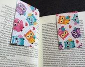 Free shipping Magnetic bookmark Owls