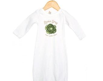 Mon Petit Chou - My Little Cabbage Baby Onesie, Slip Gown, Baby Bodysuit - French Baby - New Baby Gift