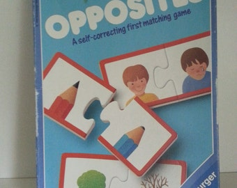 1994 Ravensburger Opposites puzzle matching