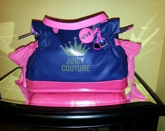 Juicy Couture Handbag ~ Ms. Daydreamer Tote ~ Pink/Blue ~ Sale ~ Sweet!!!