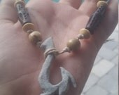 Spiked Tribal Hook Necklace