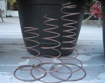 3 Bed Springs, Trio of Bed Springs, Up-Cycled Crafting Supplies