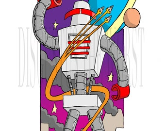 The Retro Robot