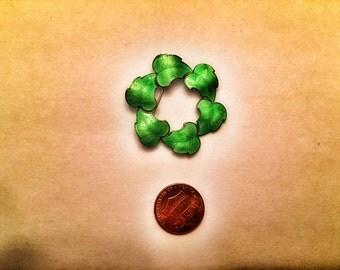 Enamel Leaf Pin