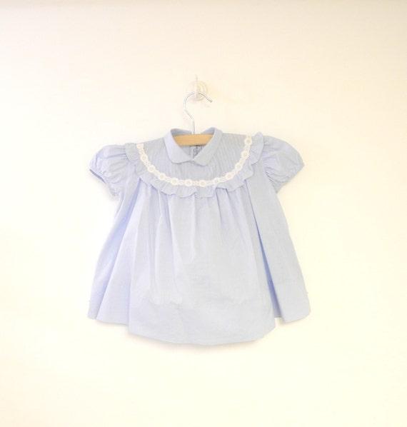 Vintage Baby Clothes 1950 s Saks Fifth Avenue Light Blue