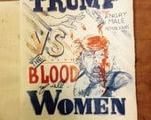 TRUMP vs. the Blood of All WOMEN