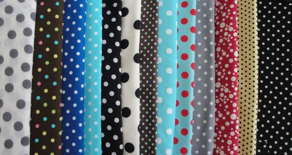 14 Dots Fabrics for Customizable Bags / Backpack / Cover- any Tablet and Laptop- iPad -MacBook; HP; Dell; Sony; Samsung; Toshiba; Lenovo etc