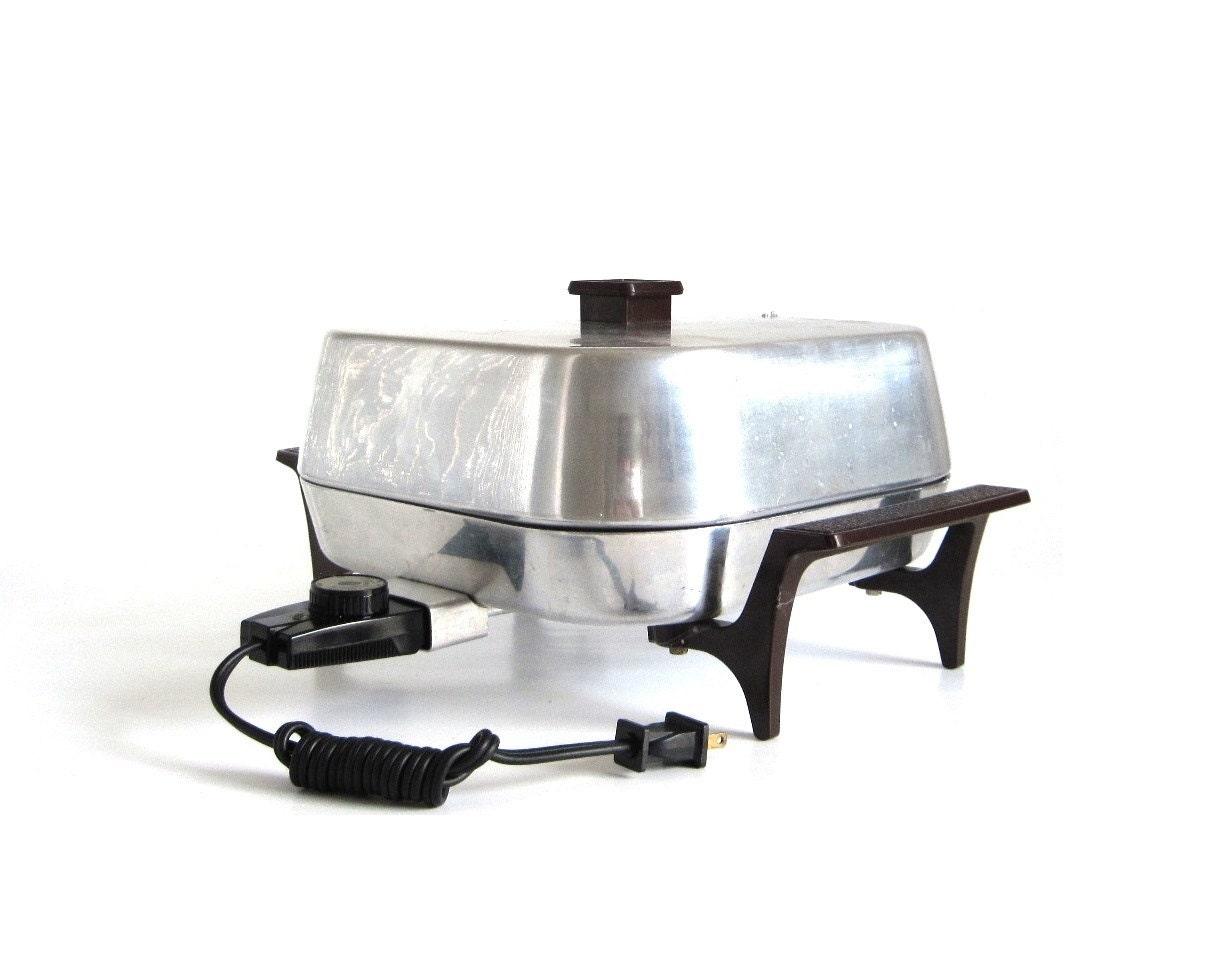 Sunbeam Electric Frying Pan Frypan Skillet Fp Bp Vintage Small
