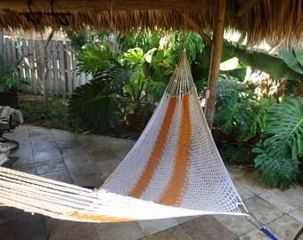 Hammocks! Adult sized cotton hand woven hammock from Guatemala.  Mayan made banana hammocks 1