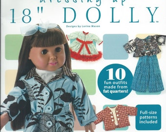 """Dressing Up 18"""" dollies"""