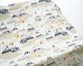 Changing Pad Cover Woodland Oak - Mountain Changing Pad Cover- Woodland Changing Pad- Woodland Crib Bedding- Changing Pad Cover- Adventure