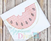 Vintage Stitch Watermelon Digital Embroidery Design Machine Applique