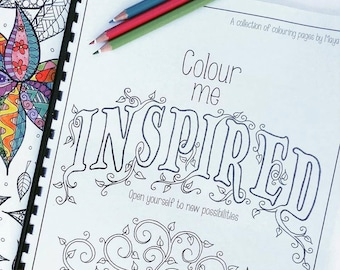 Printable Adult Coloring Book
