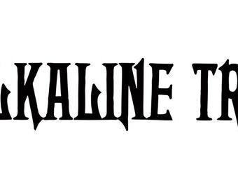 Alkaline Trio Decal Sticker