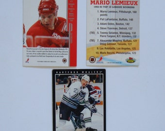 3 HOCKEY  trading cards - ANDERS ERICKSON  is a rookie to National Hockey League, see descriptions below,