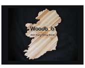 12'' Ireland personalized cutting board cutting boards wood cutting board wooden cutting board cutting board personalized engraved gifts