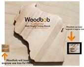 14'' Wisconsin personalized cutting board cutting boards wood cutting board wooden cutting board cutting board personalized engraved gifts
