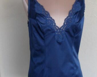 Vintage Camisole Blue Cami size 36 Vassarette Munsingwear