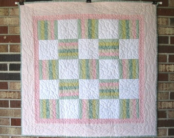 "Baby's First Quilt ""Pastels"""