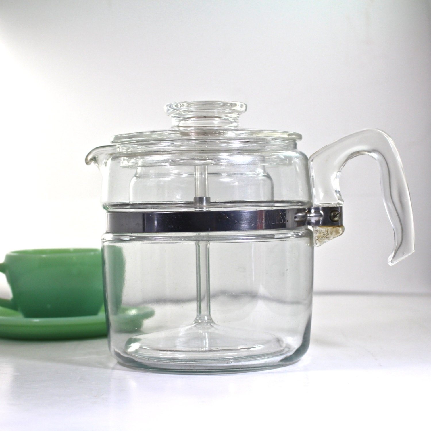 Pyrex Coffee Maker How To Use : Pyrex Flameware 6 cup Coffee Maker