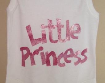 Little princess baby vest