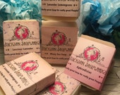 Set of 6 soaps - Handmade, Natural, Essential Oil Soaps
