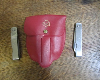 Wonderful Girl Scout Cutlery in Red Case.
