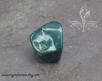 Bloodstone Tumbled Gemstone Crystal - 1 piece Medium Size (BLS0034), Blockage, Trauma, Grief, Abundance, Base Chakra