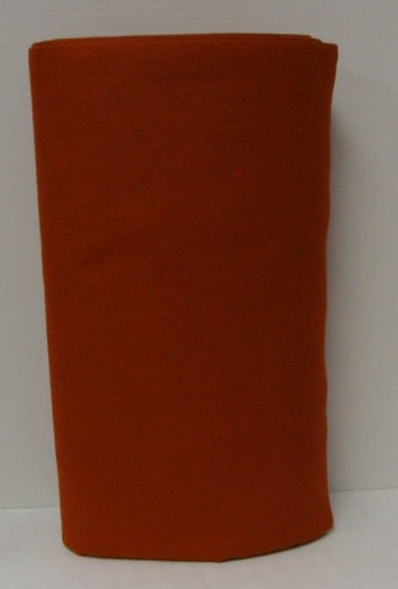 Copper Kettle 35 Merino Wool Felt Blend Fabric By The Yard