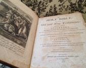 1812 Bible Mathew Carey Great Condition