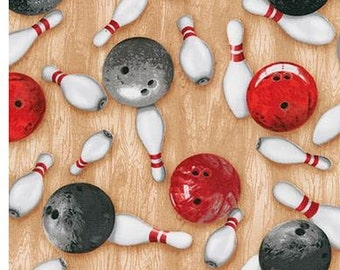 Red & Black Bowling Balls From Robert Kaufman's Sports Life 4 Collection