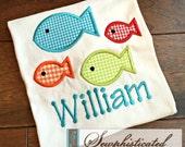 School of Fish Shirt - You Personalize