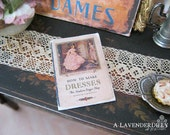 Vintage Dresses Sewing Book for Dollhouse